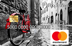 Red Bike debit card