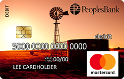 Farm debit card