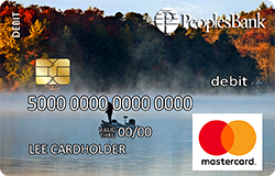 Fishing debit card