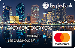 Cityscape debit card