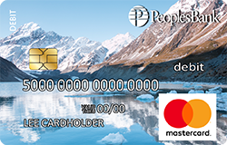 Mountains debit card