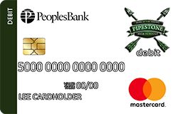 Pipestone Arrows debit card
