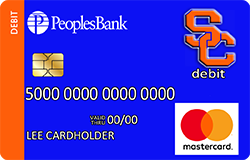 Sioux Center Warriors debit card