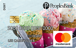 Ice Cream debit card