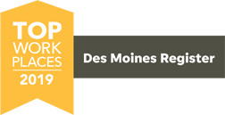 Des Moines Register Top Work Places 2019