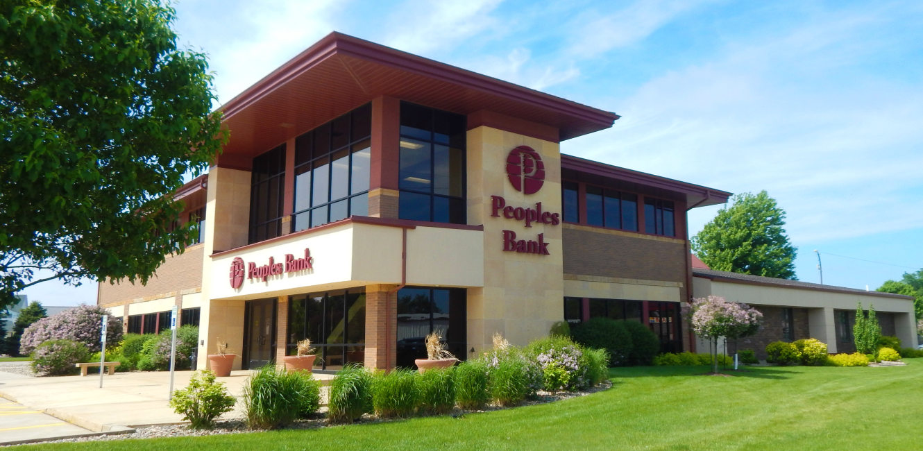 Peoples Bank in Rock Valley, Iowa